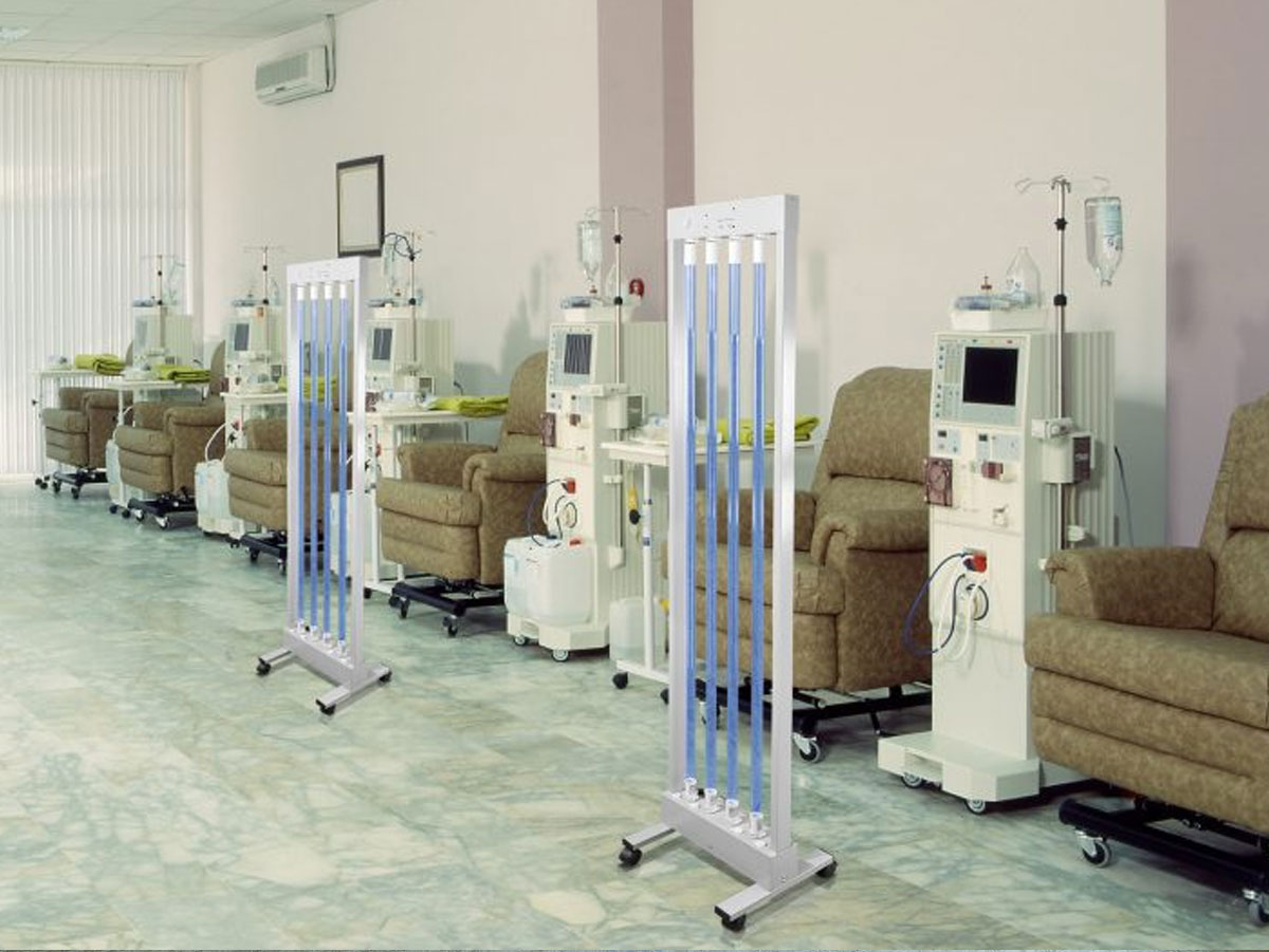 MUVI in Dialysis Room