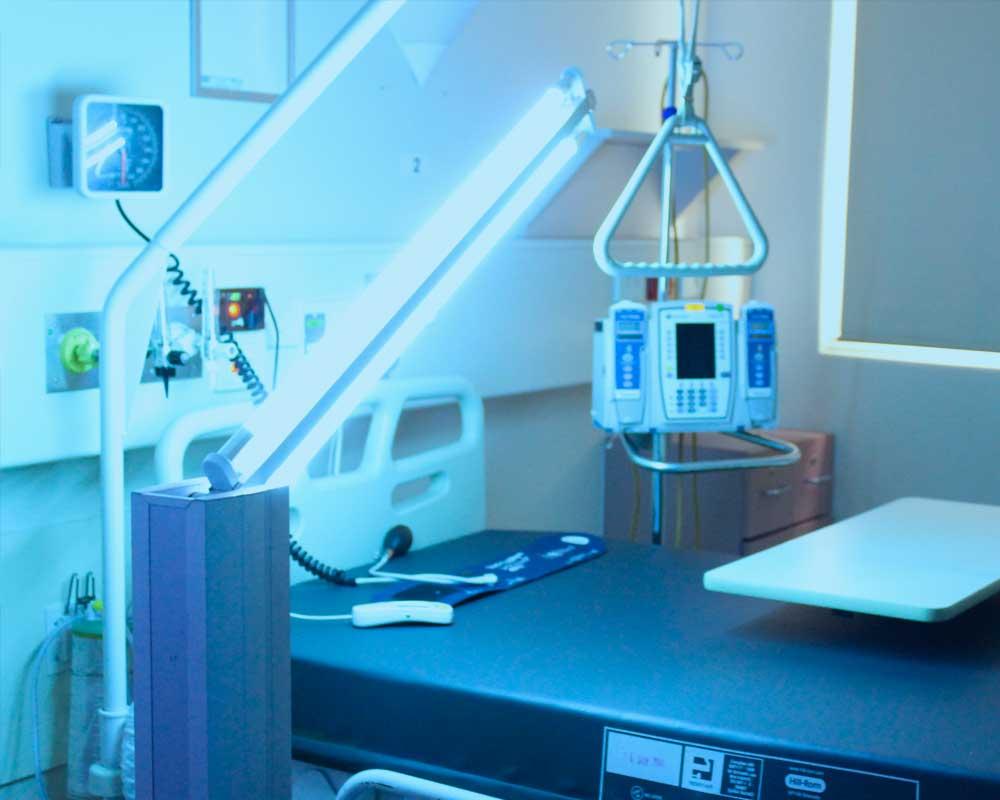 Patient Room Discharge Disinfection