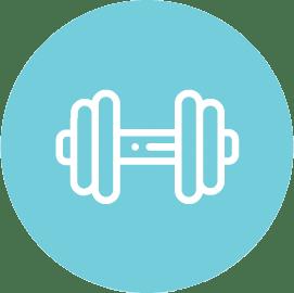 Spor Salonu Simgesi