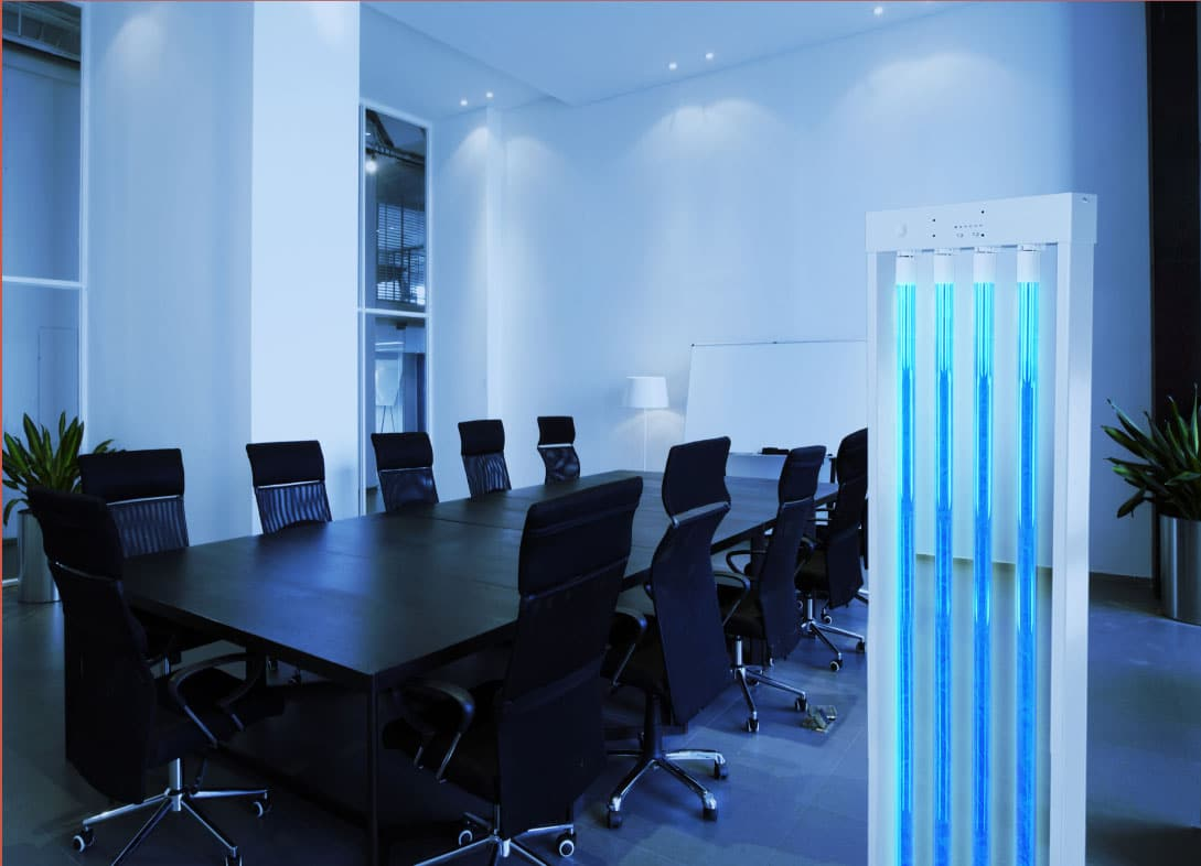 Commercial Spaces Building Disinfection