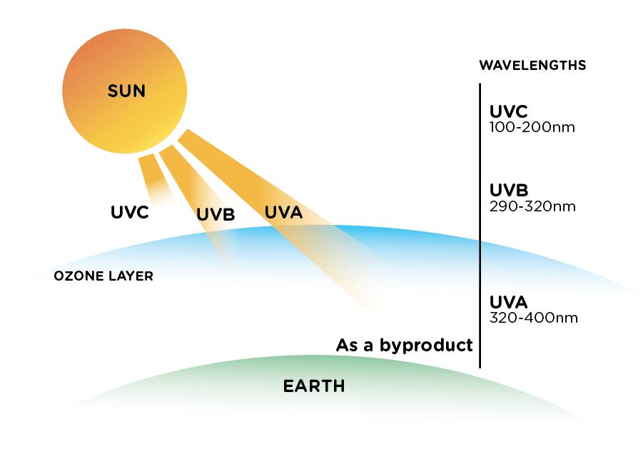 UV Radiation Types