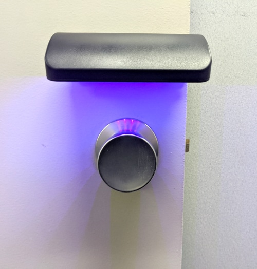 Doorknob Touch Point Disinfection